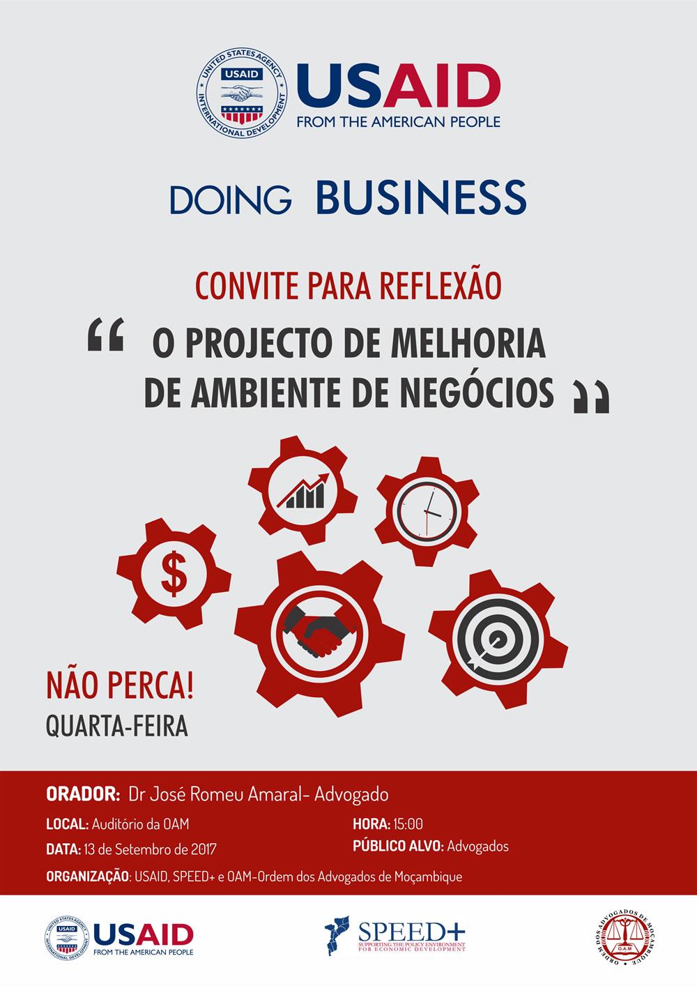 Projecto de melhoria de ambiente de Negócios