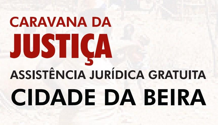 Caravana da Justica na Beira