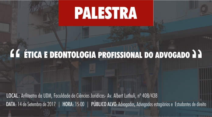 Palestra-UDM-Universidade Técnica de Moçambique