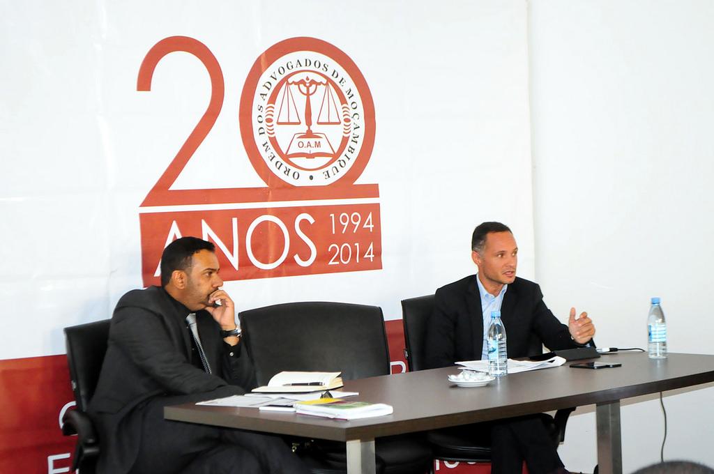 Palestra sobre a Sociedade dos Advogados