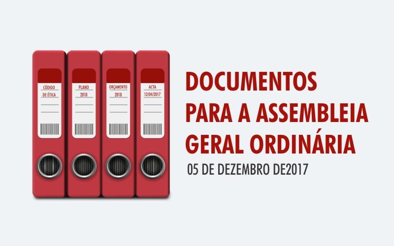 Documentos para a AssembleiaGeral