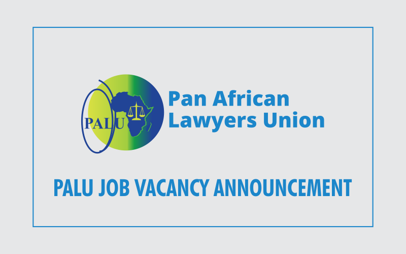 PALU JOB VACANCY ANNOUNCEMENT