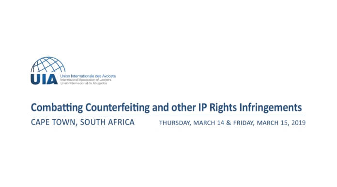 Combatting Counterfeiting and other IP Rights Infringements